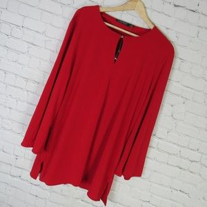 Ralph Lauren Shirt Top Tunic Womens XL Jersey